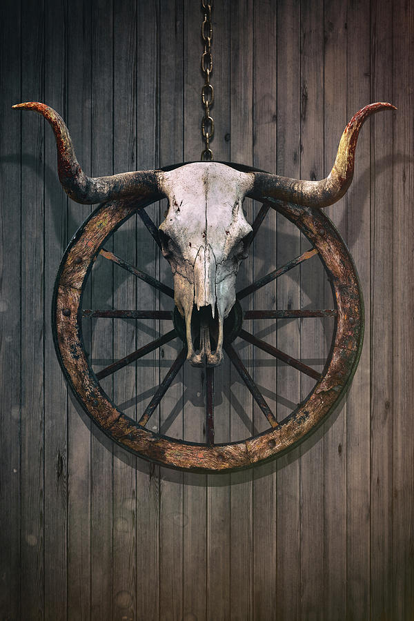 Bloody Bull Skull is a photograph by Carlos Caetano which was uploaded ...