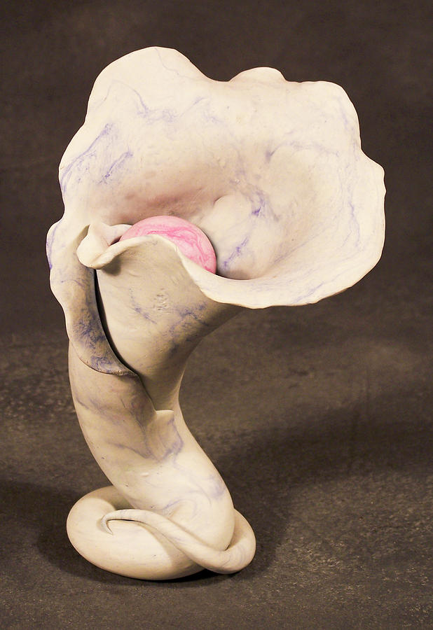 Sculpture Sculpture - Blossom by Lonnie Tapia