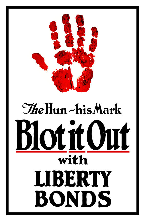 Liberty Bonds Digital Art - Blot It Out With Liberty Bonds by War Is Hell Store