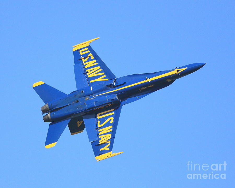 Sf Photograph - Blue Angels No.4 by Wingsdomain Art and Photography