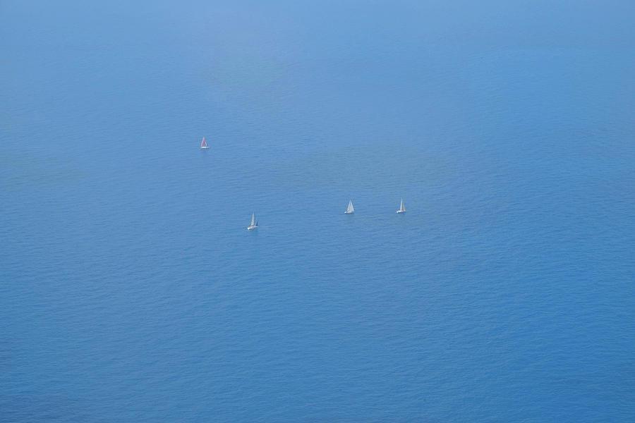 Blue Four Photograph