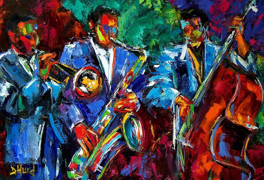Blue Jazz Painting by ...