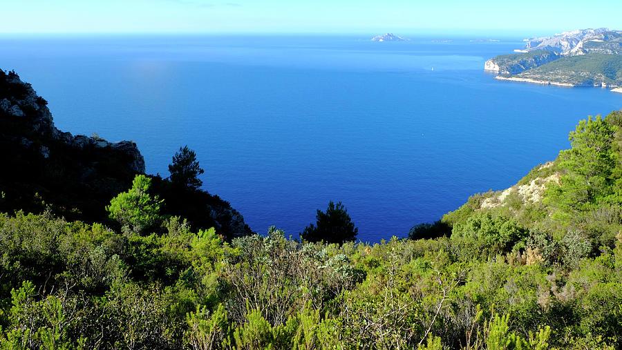 Blue Mediterranean Sea Photograph