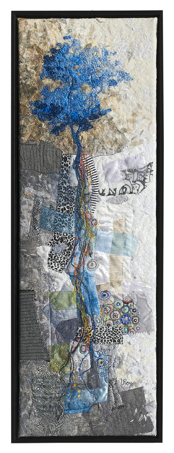 Blue Roots Tapestry - Textile
