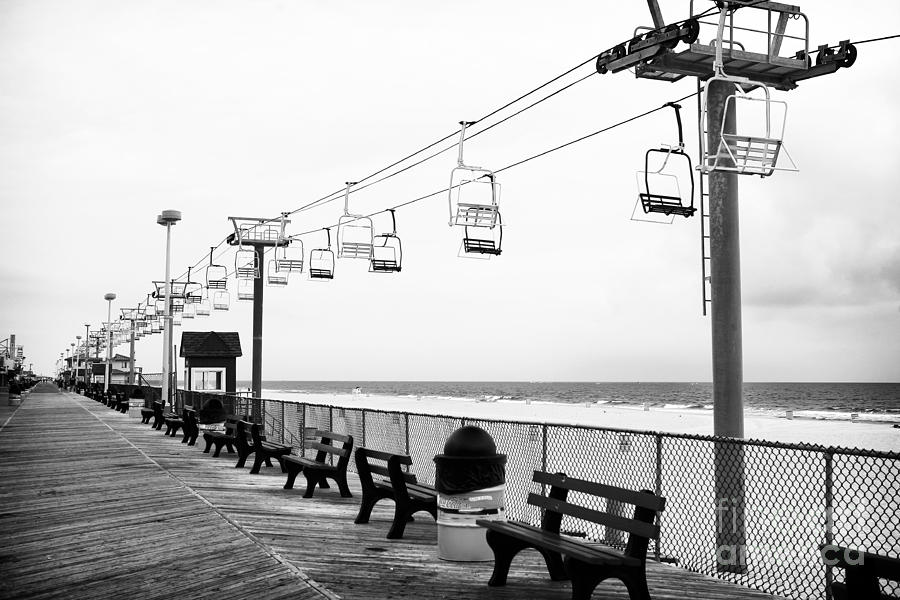 Boardwalk Ride Photograph - Boardwalk Ride by John Rizzuto