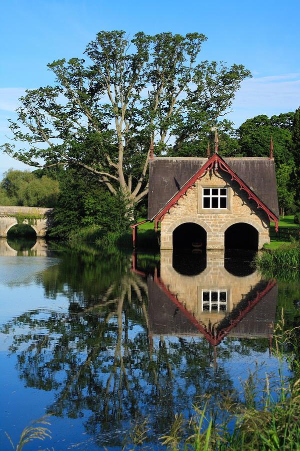 River Photograph - Boathouse by Joe Burns