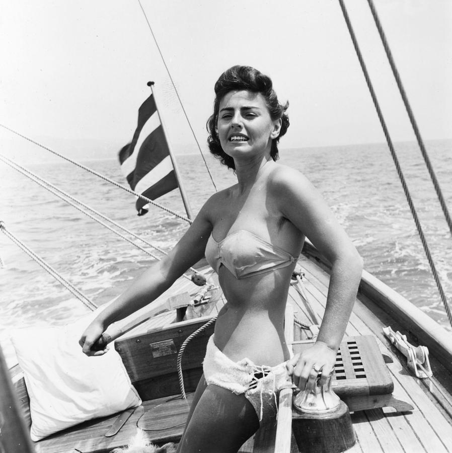Boating Bather Photograph