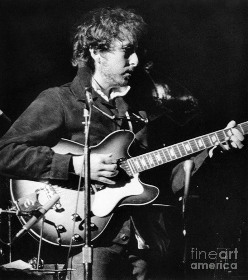 Bob Dylan (1941- ) Photograph