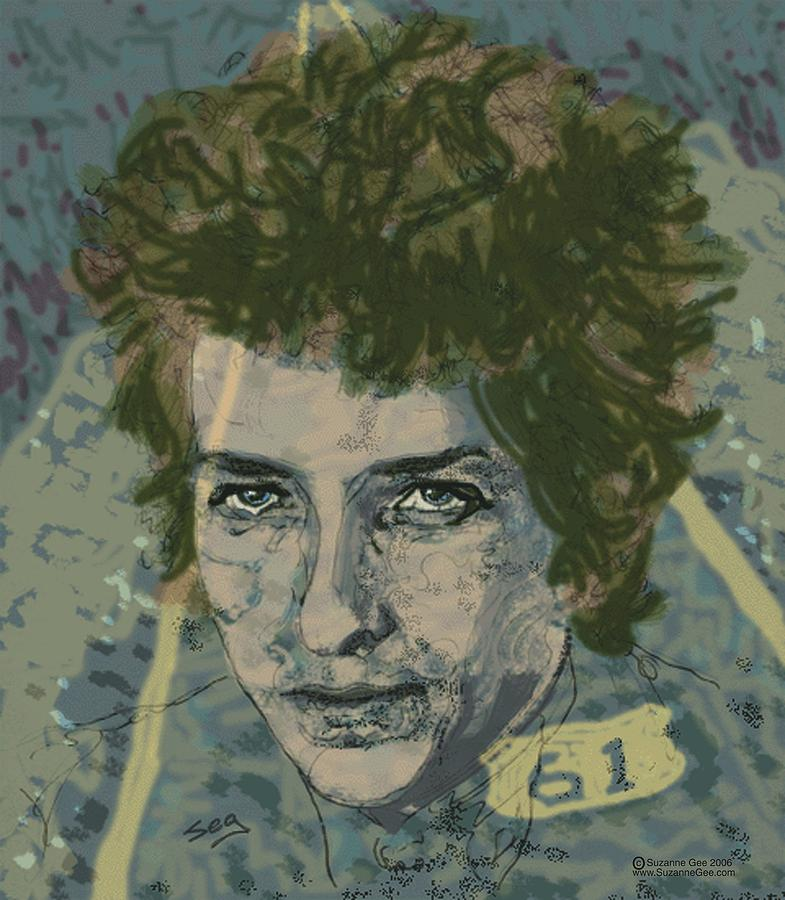 Bob Dylan Painting - Bob Dylans Highway 61 by Suzanne Gee