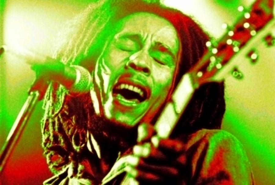 Bob Marley Red Green Yellow 2 By Tin Tran