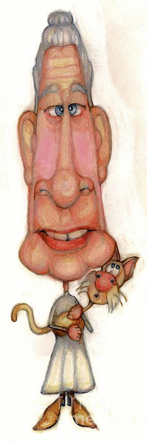 Bobblehead No 45 Drawing