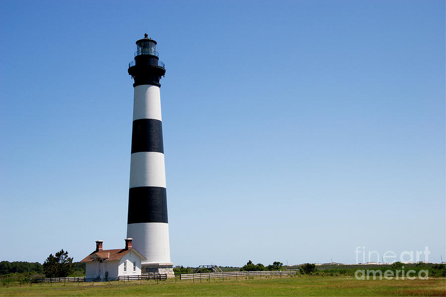 Bodie Island Lighthouse In The Outer Banks Photograph