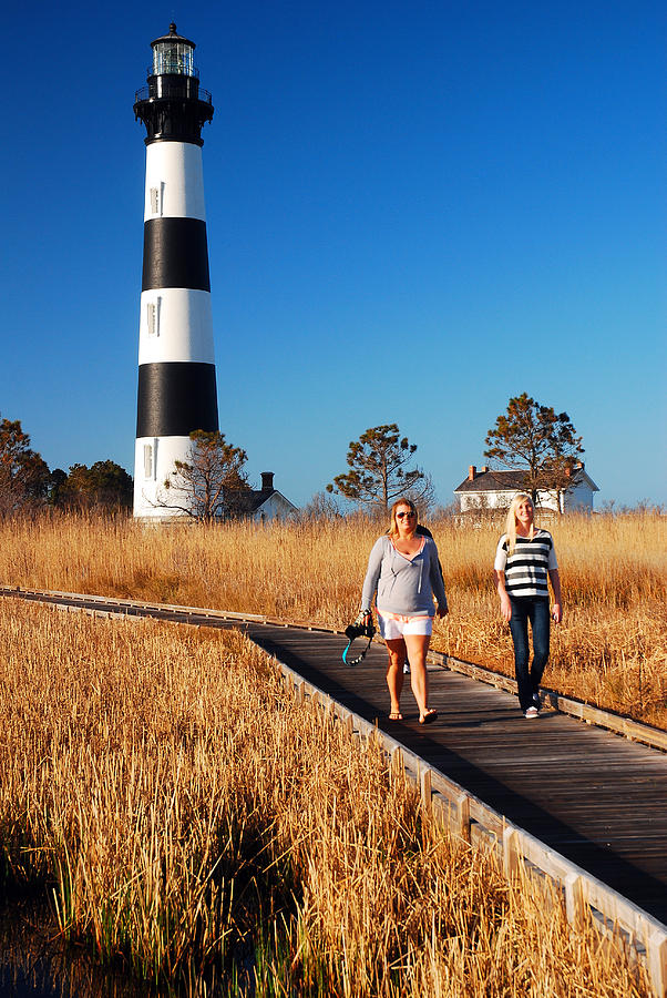 Bodie Island Lighthouse Outer Banks Photograph By James