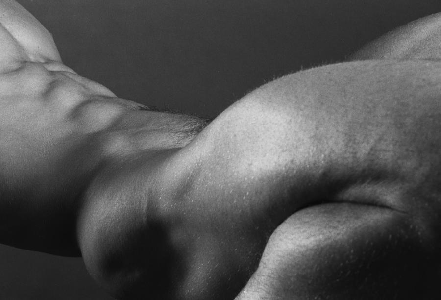 Male Photograph - Bodyscape by Thomas Mitchell