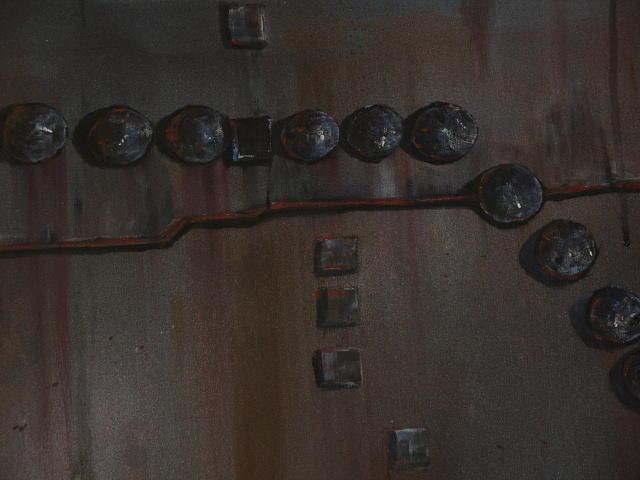 Boilers Painting - Boiler Plate 1 by Steven Holder