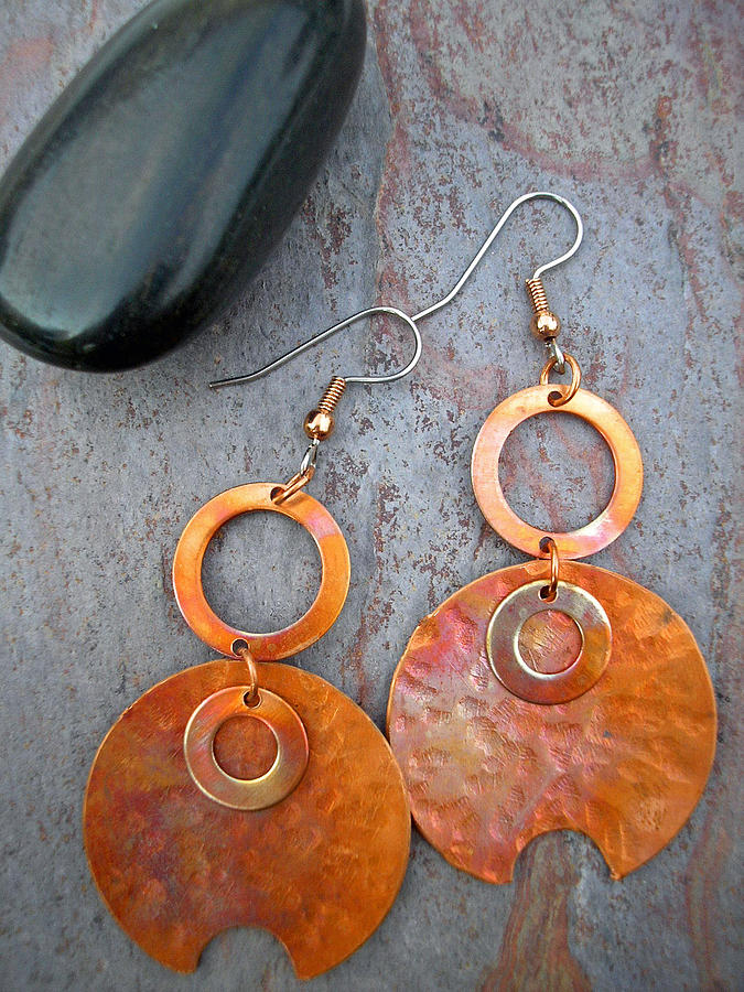 Coper Jewelry - Bold And Beautiful by Angie DElia