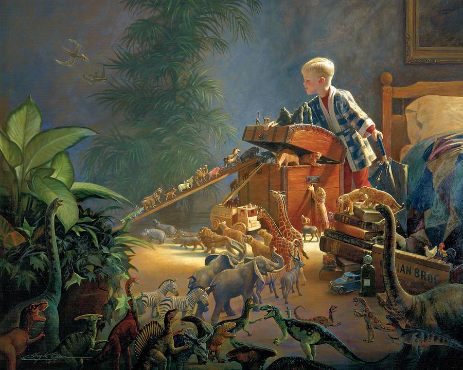 Noah's Ark Painting - Bon Voyage by Greg Olsen