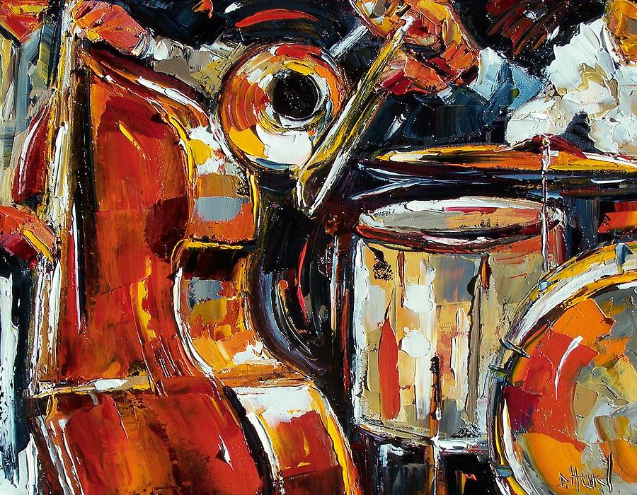 Canvas Drum Painting