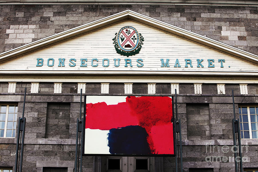 Montreal Photograph - Bonsecours Market by John Rizzuto
