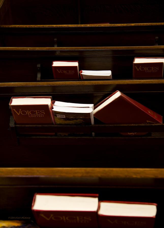 Church Photograph - Book Of Worship II by Carol Hathaway