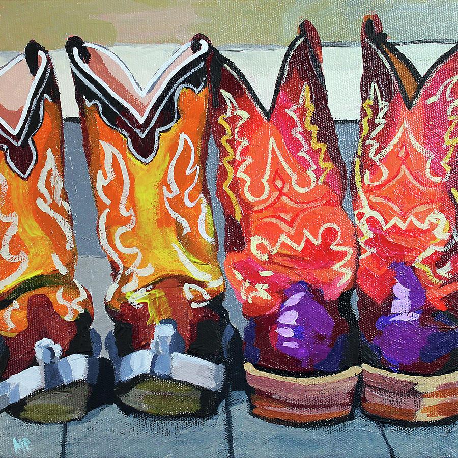 Boot Heels Painting