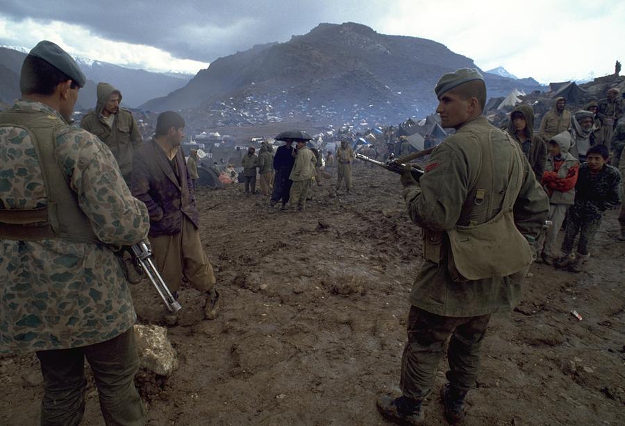 Border Control Photograph