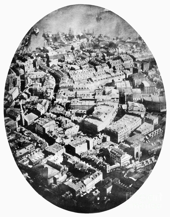 1860 Photograph - Boston 1860 by Granger