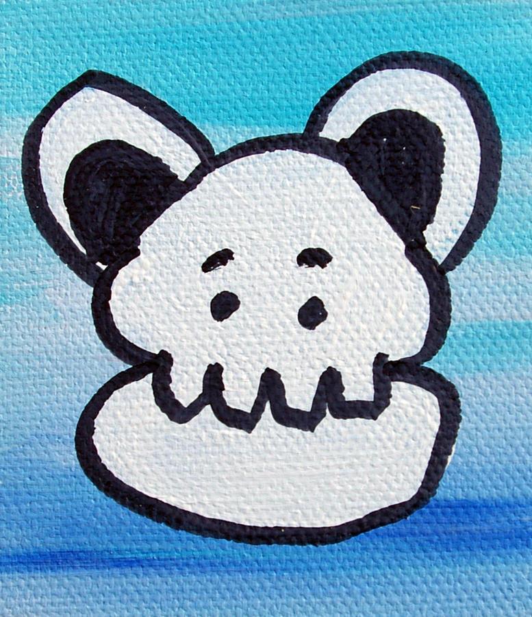 Character Painting - Boston by Jera Sky