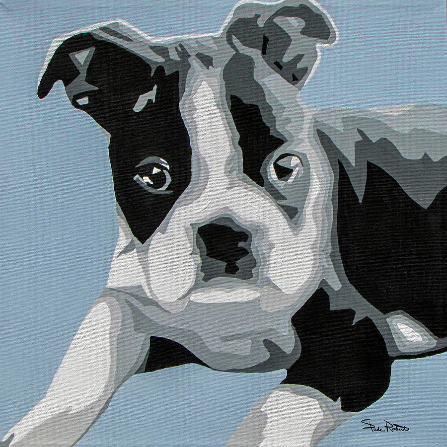 Boston Terrier Painting - Boston Terrier by Slade Roberts