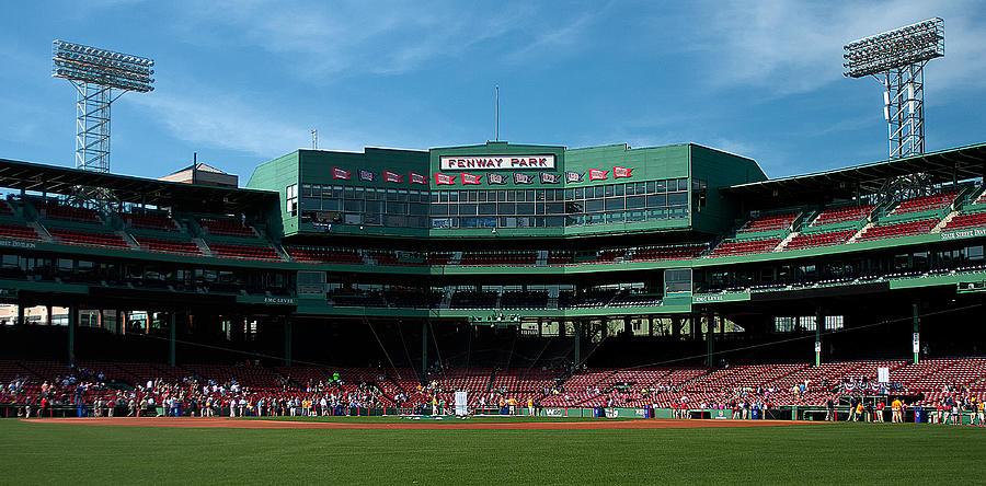 boston Red Sox  - Bostons Gem by Paul Mangold