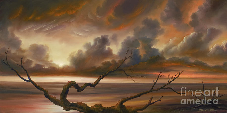 Ocean Painting - Botany Bay by James Christopher Hill