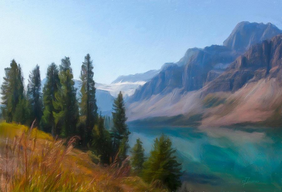 Bow Lake Digital Art