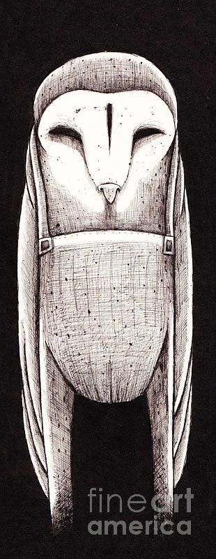 Dark Drawing - Bowl by Tom  Mead