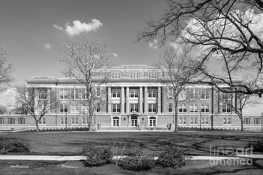American Photograph - Bowling Green State University Hall by University Icons