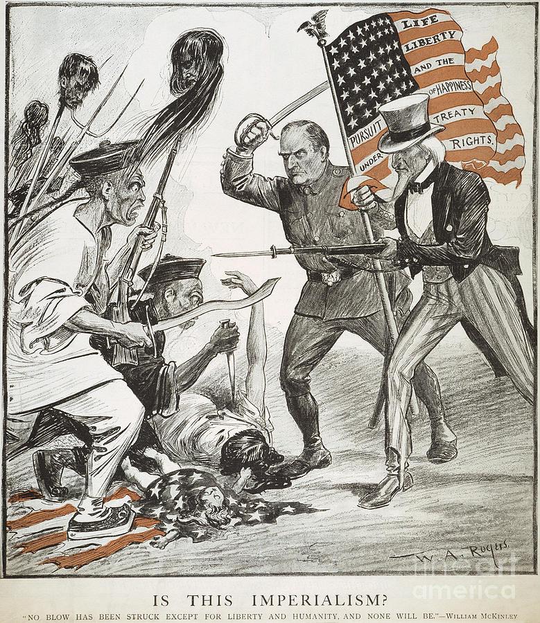 Boxer Rebellion Cartoon Photograph by Granger