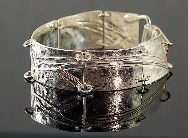 Sterling Silver Bracelet Jewelry - Bracelet by Alvero Sanchez