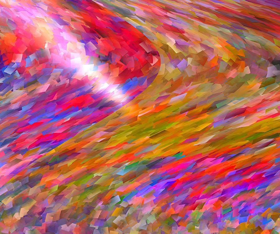 Digital Digital Art - Break Through by Michael Durst