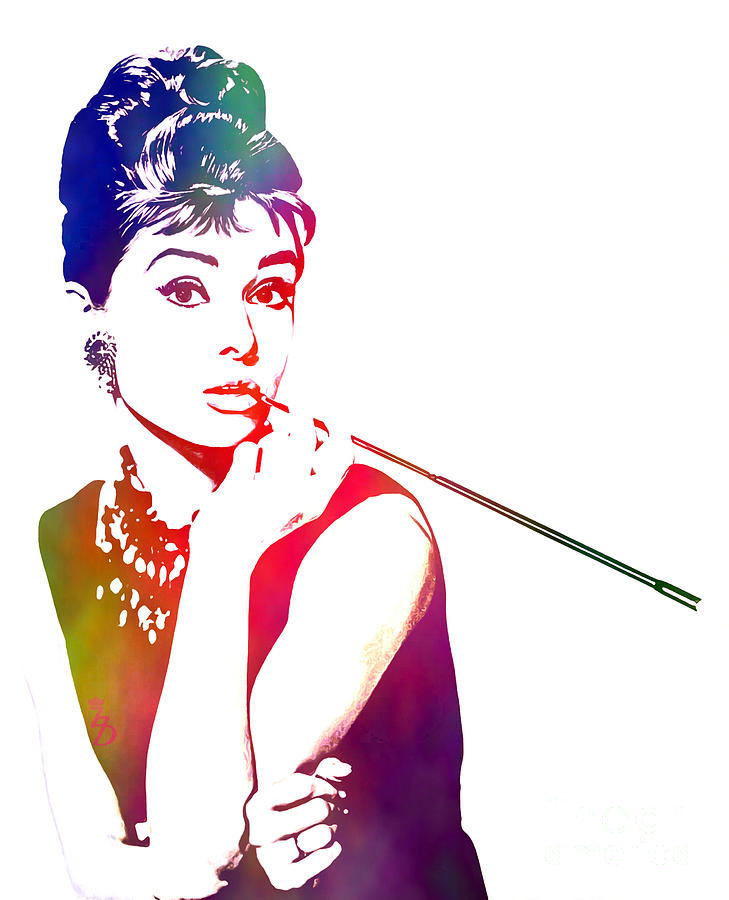 Audrey Hepburn Digital Art - Breakfast At Tiffanys by The DigArtisT