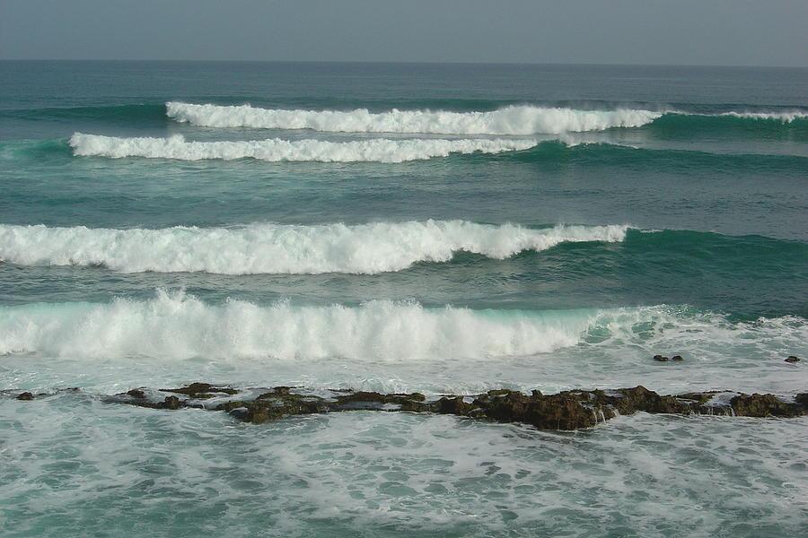 Waves Photograph - Breaking Waves Puerto Rico by Patty Vicknair
