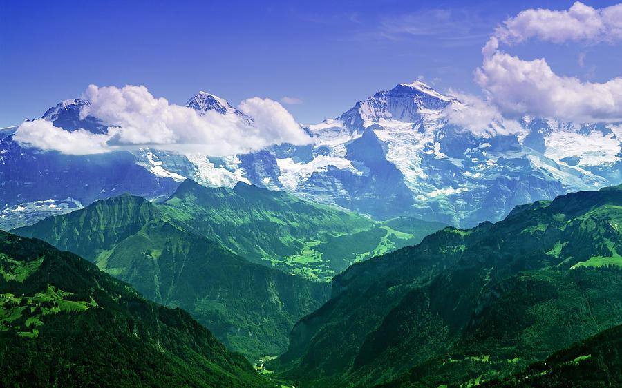 Breathtaking Jungfrau Photograph
