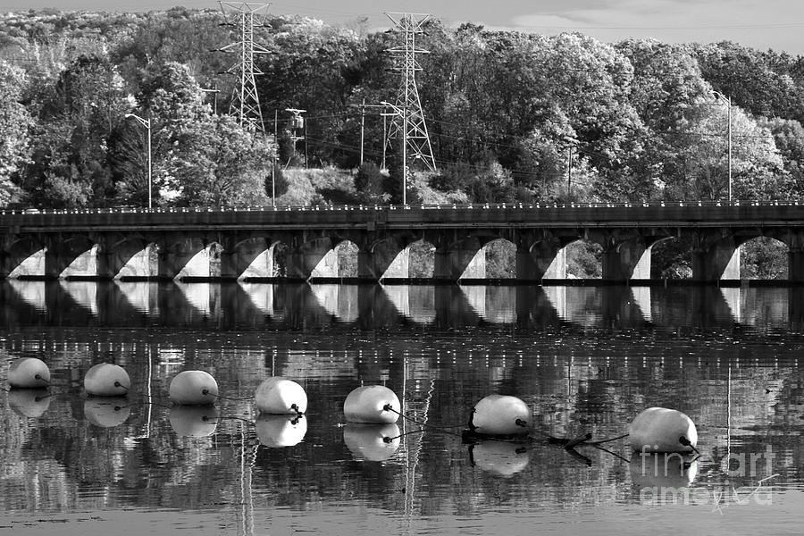 Landscape Photograph - Bridge Reflection by Karol Livote