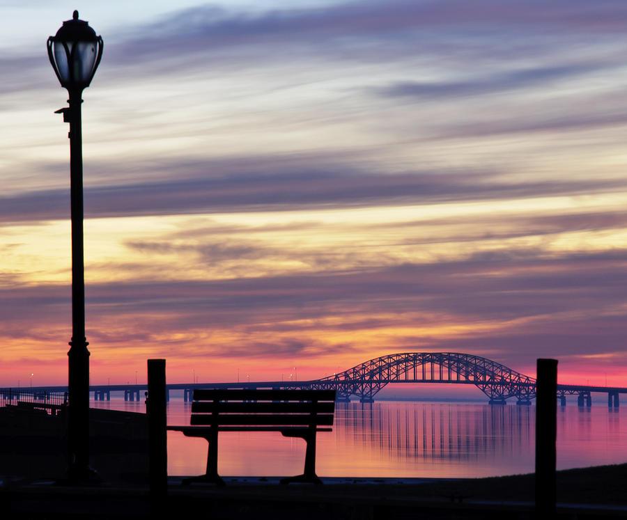 Bridge Reflection Photograph