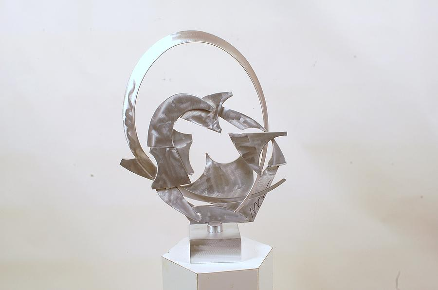 Metal Sculpture - Bridge To Subconscious by Mac Worthington