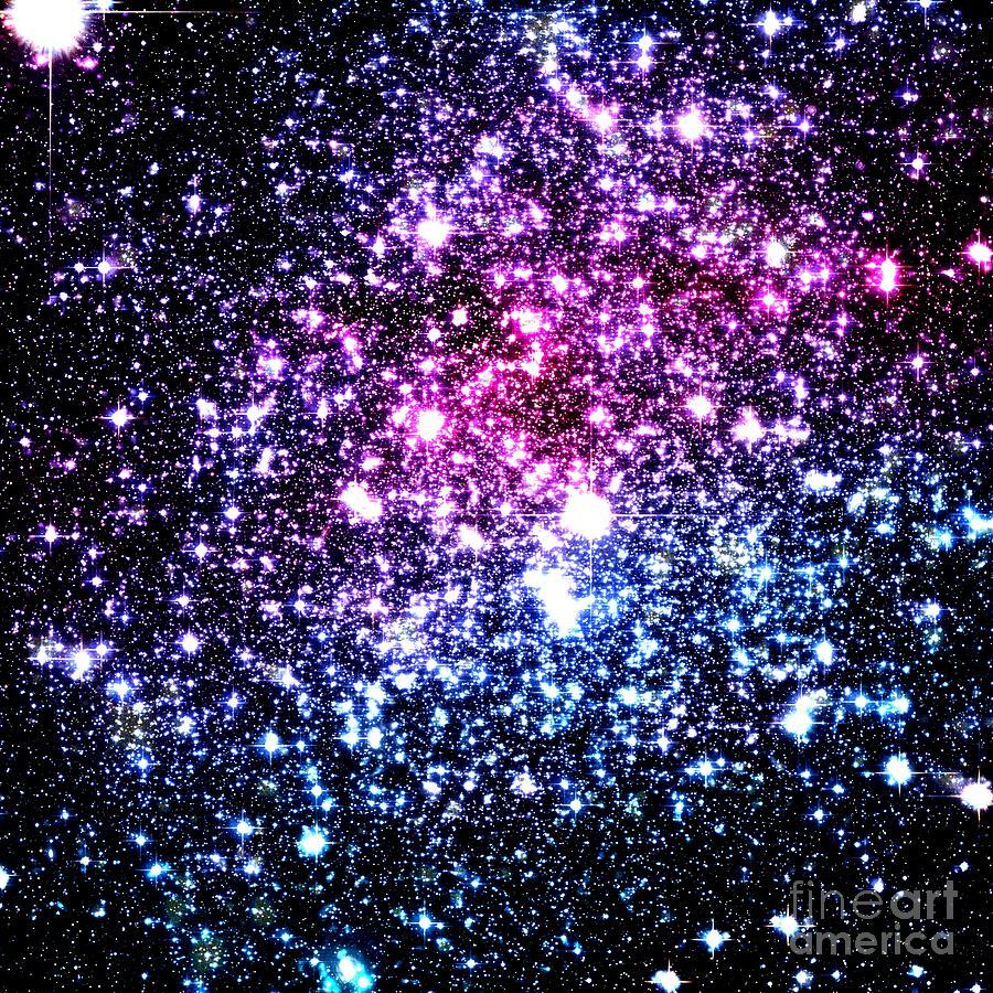 green blue purple pink galaxies - photo #30