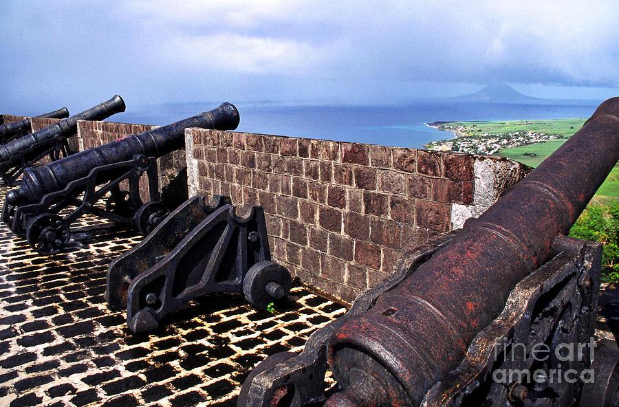 Brimstone Hill Fortress Canons Photograph