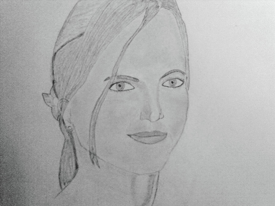 Portrait Drawing - Britney Spears by Vivek Raj