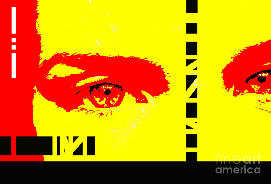 Eyes Photograph - Broken by Amanda Barcon
