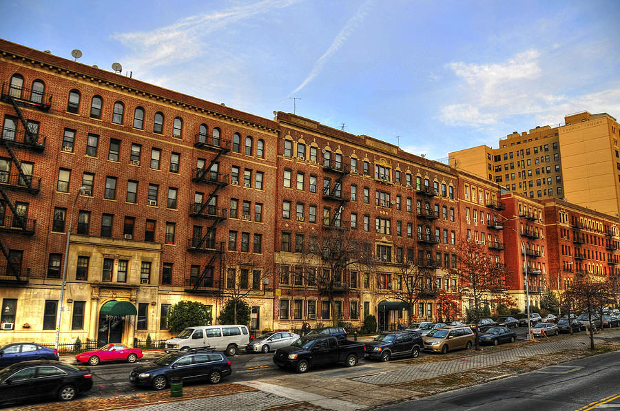 Brooklyn Apartments Photograph by Randy Aveille