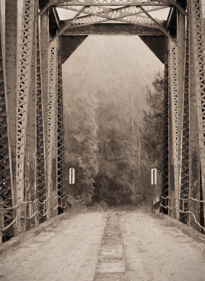 Brooklyn Photograph - Brooklyn Bridge by JC Findley