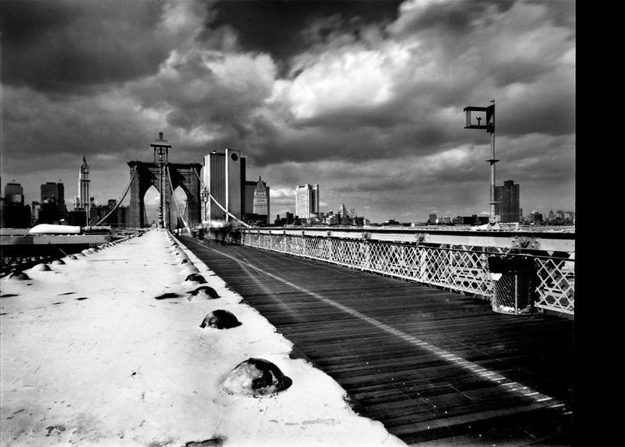 New York Photograph - Brooklyn Bridge by Luca Baldassari